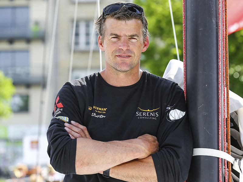 Jean Galfione, SkipperTeam Serenis Consulting